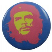 Che Guevara - 'Blue / Pink' Button Badge